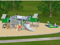 Lafayette Play DC Playground Project - New Playground Equipment Rendering 3