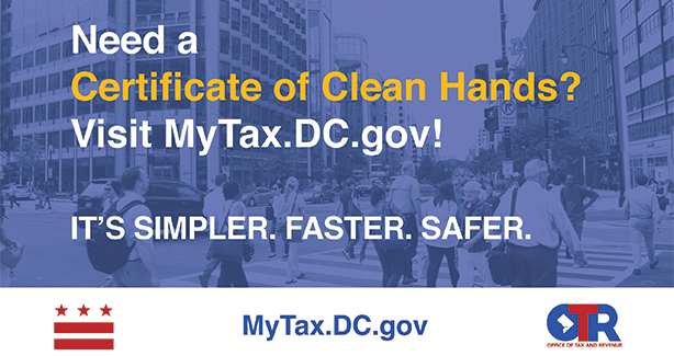 Image for Certificate of Clean Hands