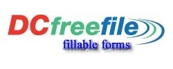 DCfreefile fillable forms logo