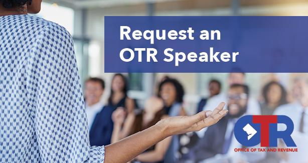 Request an OTR Speaker Image