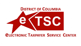 Click eTSC Logo to go to tax service center