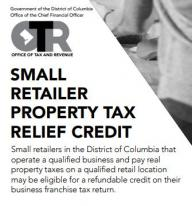 Image for Small Retailer Property Tax Relief Credit